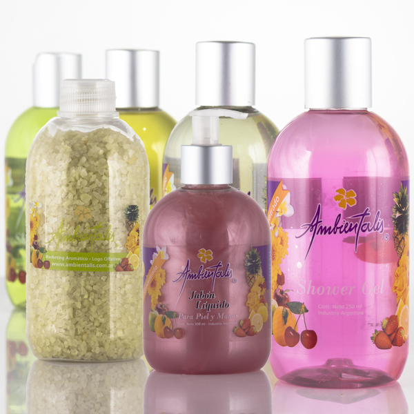 013 Jabones liquidos, Shower gel y Sales minerales
